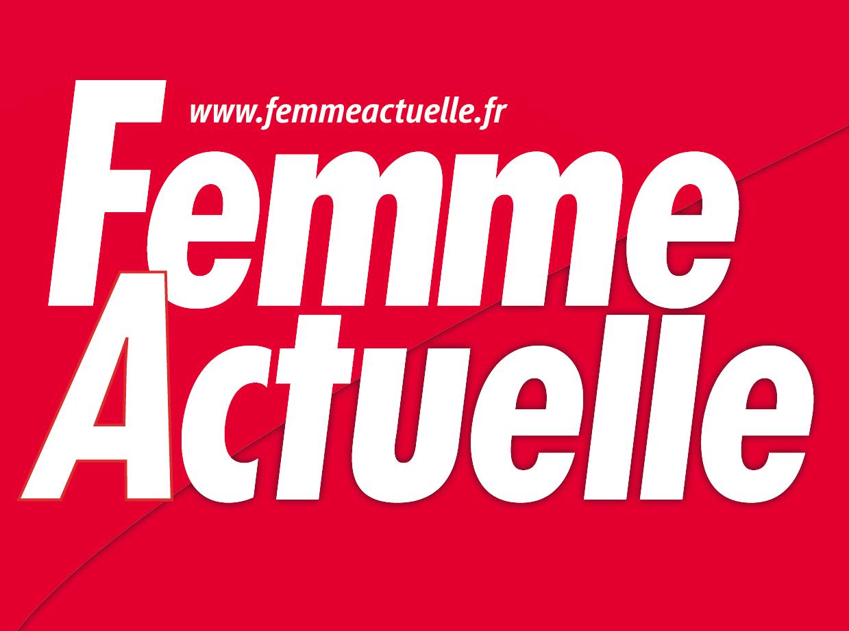 logo du magazine femme actuelle qui parle de la luxopuncture