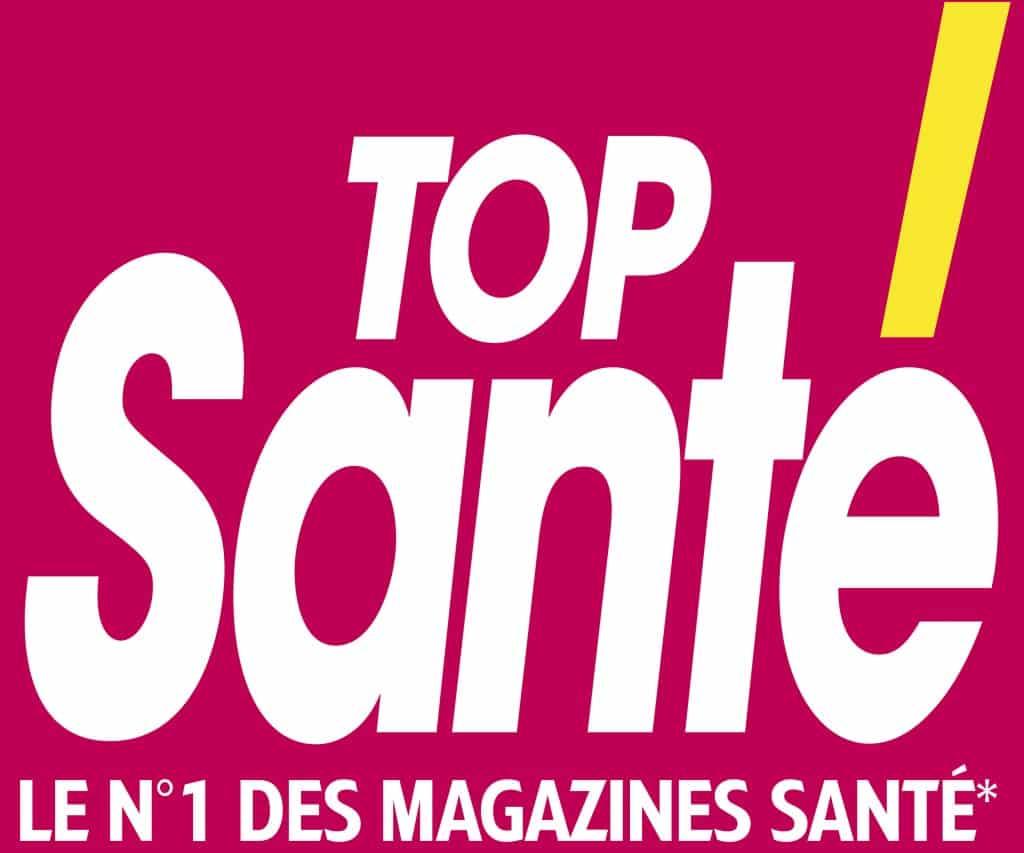 le logo du magazine top santé qui parle de luxopuncture