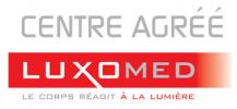le logo de luxomed dont chantal dumas est praticienne agréée depuis 2009