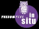 le logo de l'institut ressources in situ dont chantal dumas est diplômée en hypnose